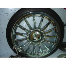 4 Jantes 8x18 Braid c/pneu New Mini