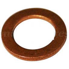 Anilha de cobre para tubo de embraiagem metro