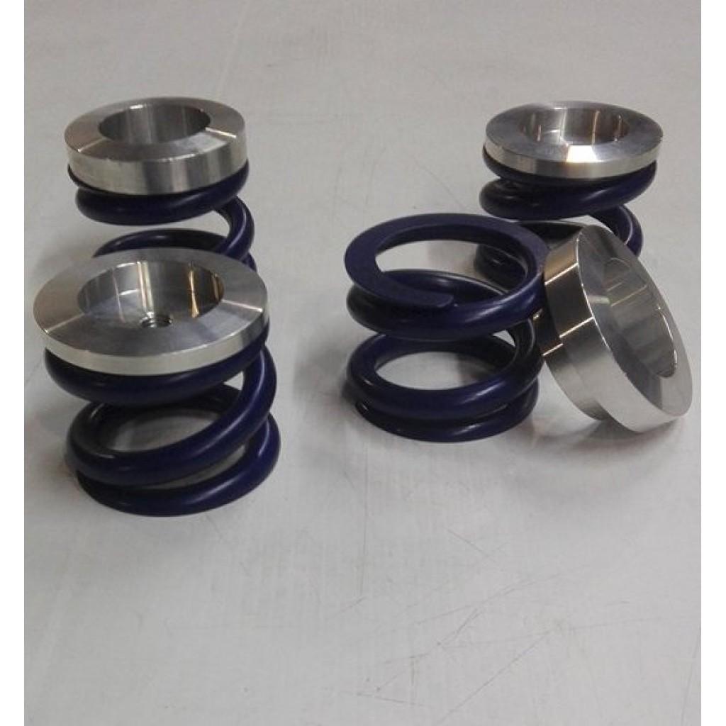 Kit 4 molas p/substituição dos cepos de suspensão p/estrada