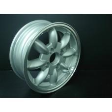 4 Jantes 5X13 replica Minilite silver Mini