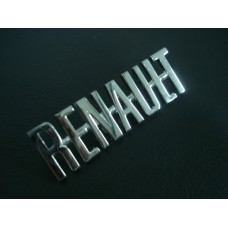Legenda cromada Renault
