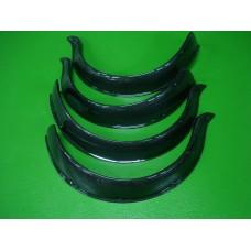 Conjunto de 4 abas em fibra de carbono