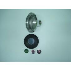 Cubo de volante polido c/buzina B1H MOTO-LITA