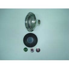Cubo de volante polido s/buzina B1 MOTO-LITA