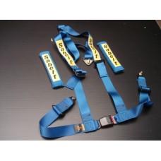 Cinto de segurança Sabelt 3 pontos azul