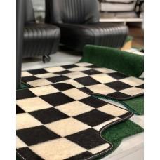 Jogo de tapetes xadrez