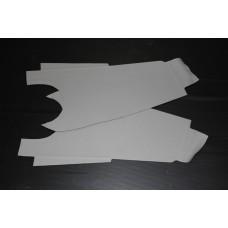 Forra de tablier original preta para 850 mk1