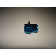 Braçadeira azul p/tubo gasolina em malha 8mm