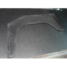 Resguardo em plástico do guarda-lama de trás esquerdo Moke