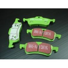 Pastilhas de travão de trás EBC Green New Mini