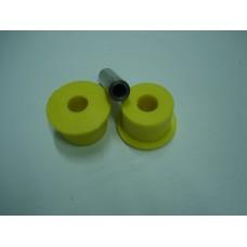 2 Casq. teflon diam.41mm c/casquilho metal c/furo 3/8 Ford