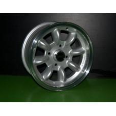Kit 4 Jantes 6x13 Ultralite ET10 cinza Ford Escort