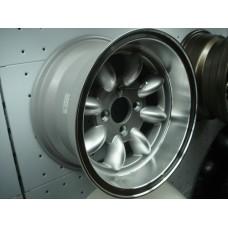 4 Jantes 7x13 Minilite Datsun 1200 (furação 114.3)