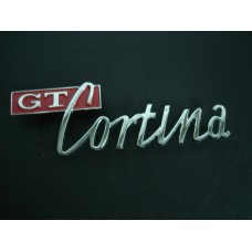 Legenda da tampa da mala Cortina GT