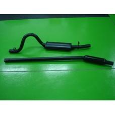 Panela c/tubo silenciador Ford Escort MK1/2 RS2000