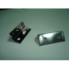 Suportes em alumínio p/fixar palas Escort (par)