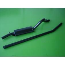 Panela e tubo Escort 1.1/ 1.3/ 1.6/ X-Flow
