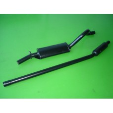 Panela c/tubo silenciador Escort 1.1/ 1.3/ 1.6/ X-Flow