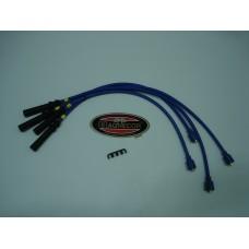 Jogo fios de vela Magnecor 8mm azul motor Crossflow Ford