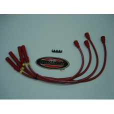 Jogo fios de vela Magnecor 8.5mm red motor Crossflow Ford