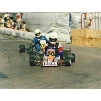 Rui Costa no 1º circuito da Marinha Grande na Categoria livre 125 em 1990