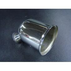 Caixa para conta-rotações 80mm em cromado