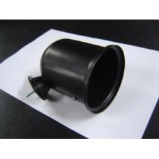 Caixa para conta-rotações 80mm em preto