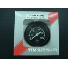 Manómetro TIM de pressão de óleo