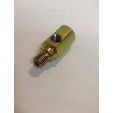 Adaptador para válvula e tubo de pressão de óleo