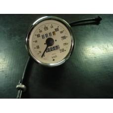 Conta-quilómetros Smiths 80mm 240Km/h Magnólia